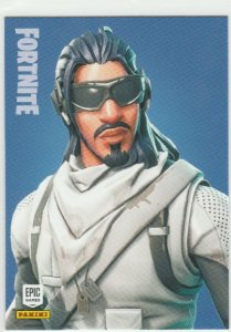 Fortnite Absolute Zero 151 Rare Outfit Panini 2019 trading card series 1
