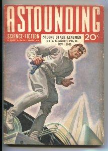 ASTOUNDING SCIENCE-FICTION-NOV 1941-SECOND STAGE LENSMAN-ROGERS ART