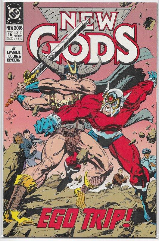 New Gods (vol. 3, 1989) #16 FN Evanier/Cullins, Superman