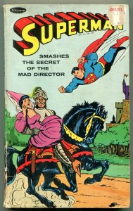 Superman Smashes the Secret of the Mad Director Paperback 1966