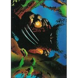 1992 Wolverine: From Then 'Til Now: Series 2 FEROCIOUS #17