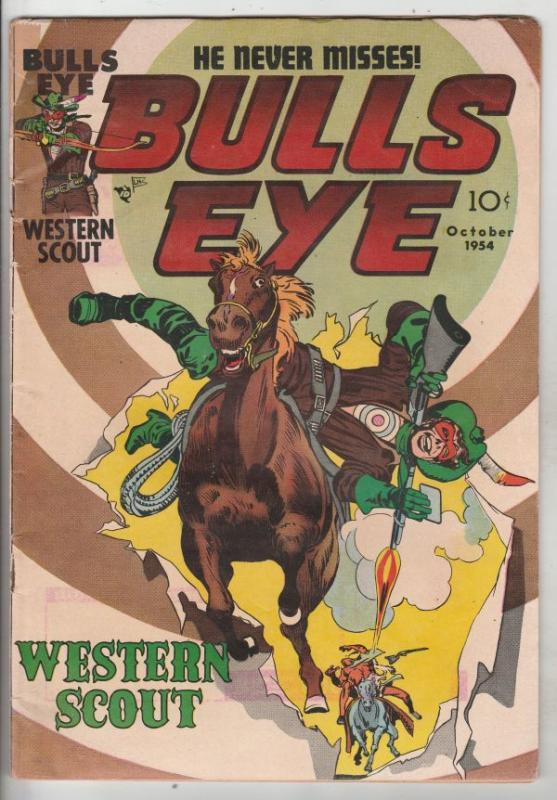 Bulls Eye #2 (Oct-54) VG+ Affordable-Grade Bulls Eye
