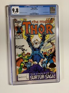 Thor 353 Cgc 9.8 White Pages Marvel Copper Age