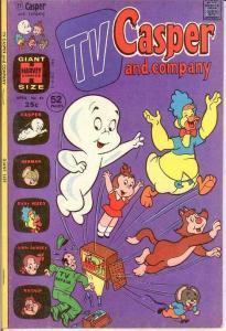 TV CASPER & COMPANY (1963-1974) 46 F+ April 1974 COMICS BOOK