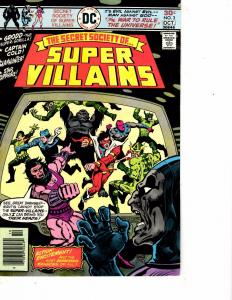 Lot Of 2 DC Comic Books Society Villains #3 and Superman/The Spectre #29  ON1