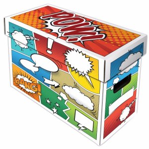 Short Comic Box - Art - Pow - 5 Boxes