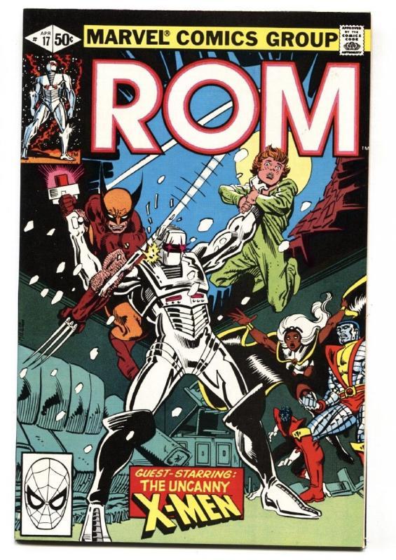 ROM #17-MARVEL 1981-X-men Wolverine-Comic Book NM-