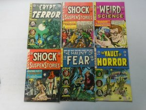EC Comics lot 12 different Gemstone reprints avg 6.0 FN