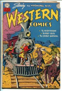 WESTERN #17 1950-DC-WYOMING KID-NIGHT HAWK-RODEO RICK-COWBOY MARSHAL-vg