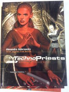 The TECHNO PRIESTS Bk. 2  Jodorowsky Janjetov Beltran (2000 Hardcover) Humanoids
