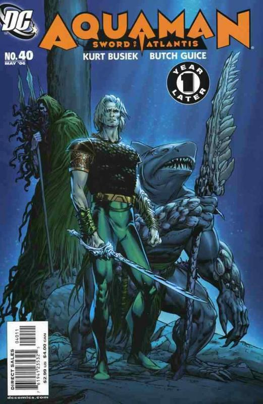 AQUAMAN: SWORD OF ATLANTIS (2006 DC) #40 NM- A95842