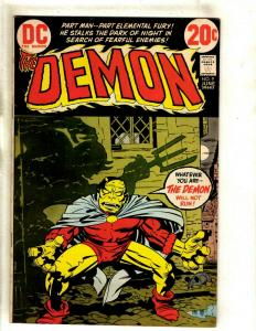 The Demon # 9 VF/NM DC Comic Book Jack Kirby Bronze Age Etrigan Fourth World RS1