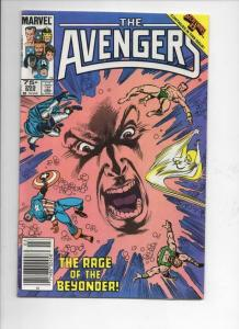 AVENGERS #265, VF+, Sub-Mariner, Captain, 1963 1986, more Marvel in store