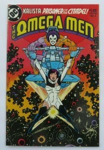 Omega Men #3 NM- High Grade Key Issue 1st App. Lobo 1st Print DC Comics 1983