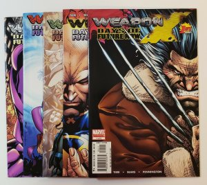 Weapon X #1-5: Days Of Future Now. Marvel Comics 2005 Wolverine VF/NM