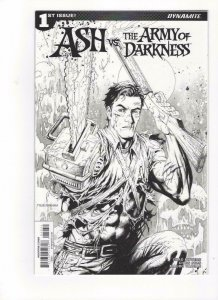 ASH vs ARMY OF DARKNESS #1, VF/NM, Variant, Bruce Campbell, 2017, AOD