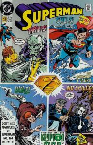 Superman (2nd Series) #41 FN; DC   save on shipping - details inside