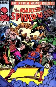 Official Marvel Index to the Amazing Spider-Man #4, VF+ (Stock photo)