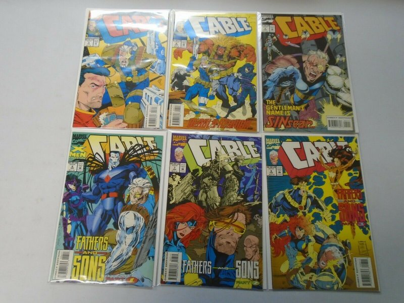 Cable comic lot 12 different from #3-50 8.0 VF (1993-98 1st Series)