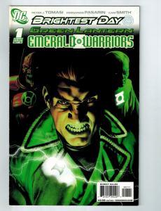 Brightest Day Green Lantern Emerald Warriors # 1 FN DC Comic Book Batman S97