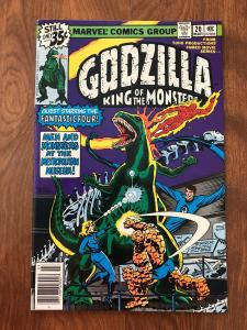 Godzilla: King of the Monsters #20 (Marvel; March, 1979) - Fantastic Four - VF