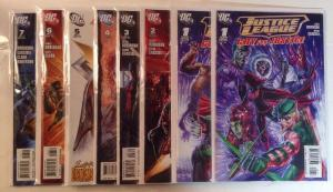Justice League Cry For Justice 1-7 Complete Near Mint Lot Set Run