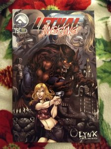 Lethal Instinct NM #1 First Printing