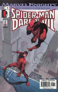 Spider-Man/Daredevil #1 VF/NM; Marvel   save on shipping - details inside