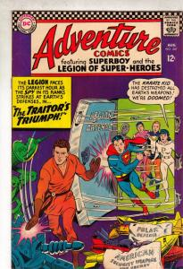 Adventure Comics #347 (Aug-67) GD/VG Affordable-Grade Legion of Super-Heroes,...