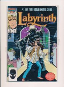 MARVEL LABYRINTH THE MOVIE Nov #1 GOOD/VERY GOOD  (SRU679)