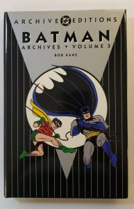 ARCHIVE EDITIONS BATMAN ARCHIVES VOL.3 HARD COVER FIRST PRINT DC COMICS