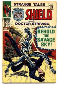 STRANGE TALES #165-comic book-DOCTOR STRANGE/NICK FURY-STERANKO