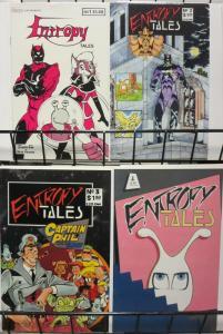 ENTROPY TALES (ENTROPY) 1-4  THE SET!
