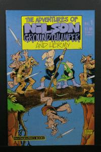 Critters Special #1 Nilson Groundthumper Stan Sakai