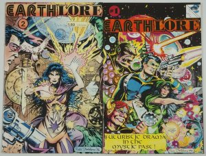 Earthlore #1-2 FN/VF complete series - futuristic drama in the mystic past - set
