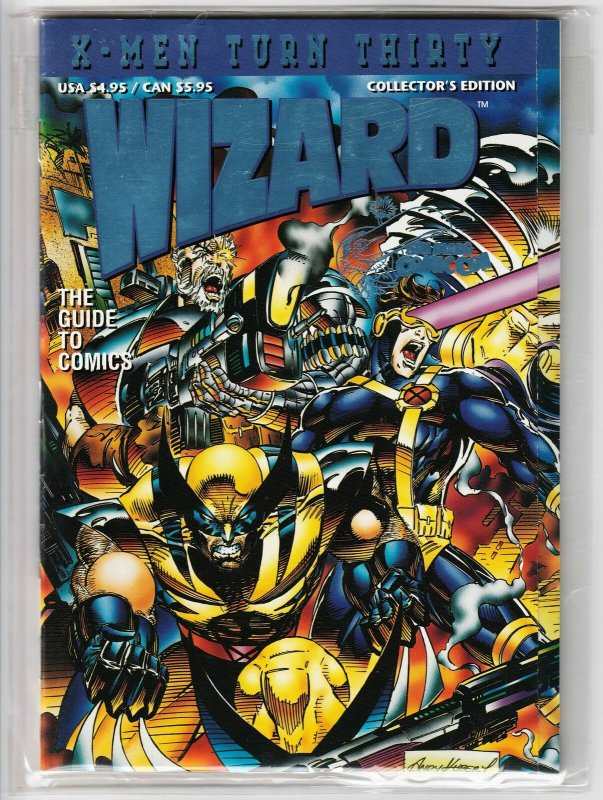 Wizard X-Men 30th Anniv Special | SDCC Variant | Trading Card | COA (1993) VF