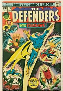 DEFENDERS#28  FN/VF 1975 MARVEL BRONZE AGE COMICS