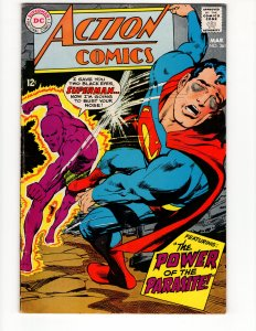 ACTION COMICS #361 (VF+) Silver Age DC Comics ID#49P