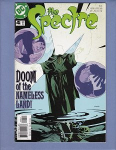 The Spectre #4 FN/VF DC 2001