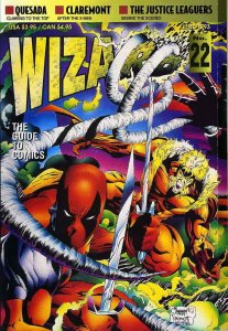 Wizard: The Comics Magazine #22 FN; Wizard | save on shipping - details inside