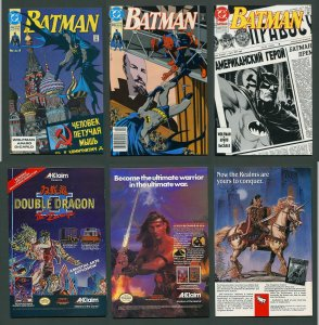 Batman #445 #446 #447 (KGBeast SET) 9.4 NM  March 1990