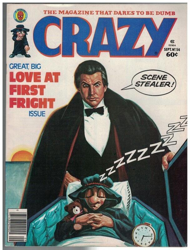 CRAZY (1973 MARVEL) 54 VG-F Sept. 1979