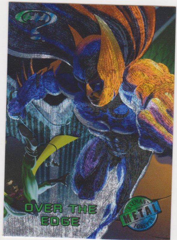1995 Batman Forever Metal #95 Over the Edge