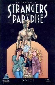 Strangers in Paradise (1996 series) #18, VF (Stock photo)