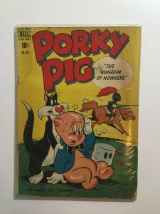 Porky Pig 284 Dell Four Color Good Gd 2.0 Water Damage Dell Publishing