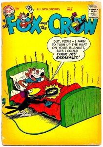 FOX AND THE CROW #39 (Mar 1957) 3.0 GD/VG   36 Pages of Madcap Jim Davis Hijinx!