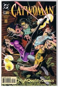 CATWOMAN #24, VF/NM, Jim Balent, Kitty, Femme Fatale, 1993, more CW in store