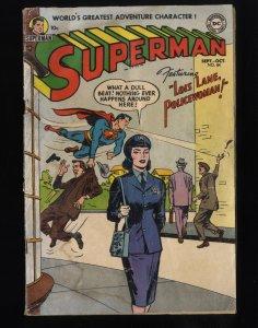 Superman #84 GD- 1.8