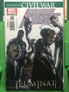 The New Avengers: Illuminati #1