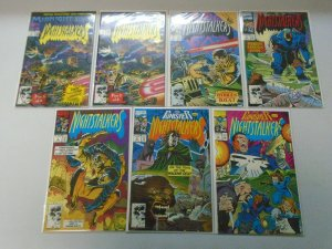 Nightstalkers run #1-12 avg 8.5 VF+ (1992-93)